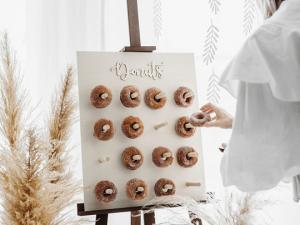 Donut Wall.