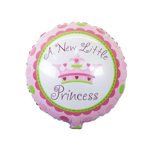 """A New Little Princess"" Krona Folieballong"