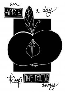 NYHET! An apple a day keeps the doctor away
