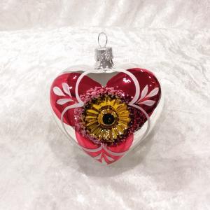 Hjärta silver blank