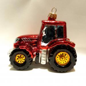 Traktor röd