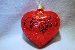 Hjärta rött stort