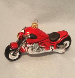 Motorcykel röd