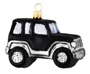 Bil svart suv