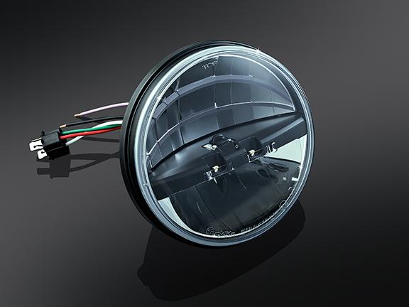 Headlamp right drive 7 tum