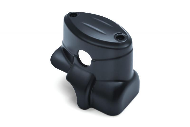 Rear master cylinder cover,satin black