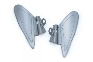 Saddle shields heat deflectors