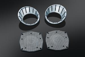 L.E.D. Speaker Bezels for Touring & Trike