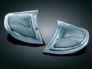 Headlight outer trim w/turn