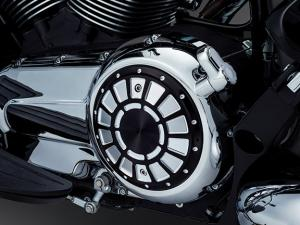 Crank cover accent black