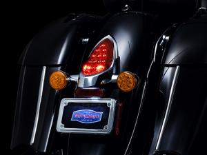 Taillight top trim
