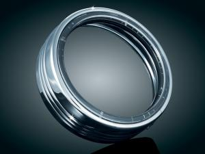 Chrome 7 inch L.E.D. Halo Trim Ring