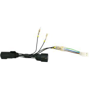 Trailer wire harness Rivco's own 5- to 4-wire converte