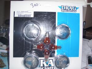 Lens kit med chrome ring