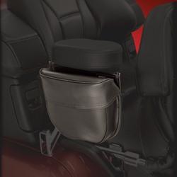 Armrest pouch black