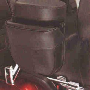 Armrestpouch black 1800