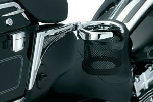 Passenger Drink Holder For Harley Touring And Trike left side