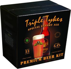 """""""Triple Tykes"""" Special Export Ale"""