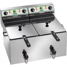 Dubbelfritös 10+10L elektrisk Fimar FR1010R