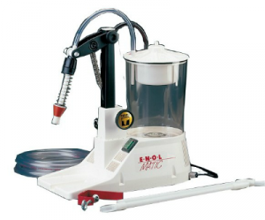 Enolmatic flaskfyllare med vakuumpump