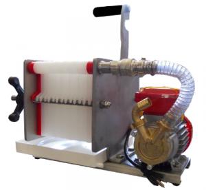 Filter 14-lager med pump
