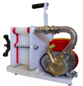 Filter 8-lager med pump