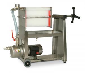 Filterpump för öl i rostfritt stål