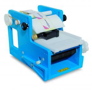 Etiketteringsmaskin PE Q för fyrkantiga flaskor Flexilabel
