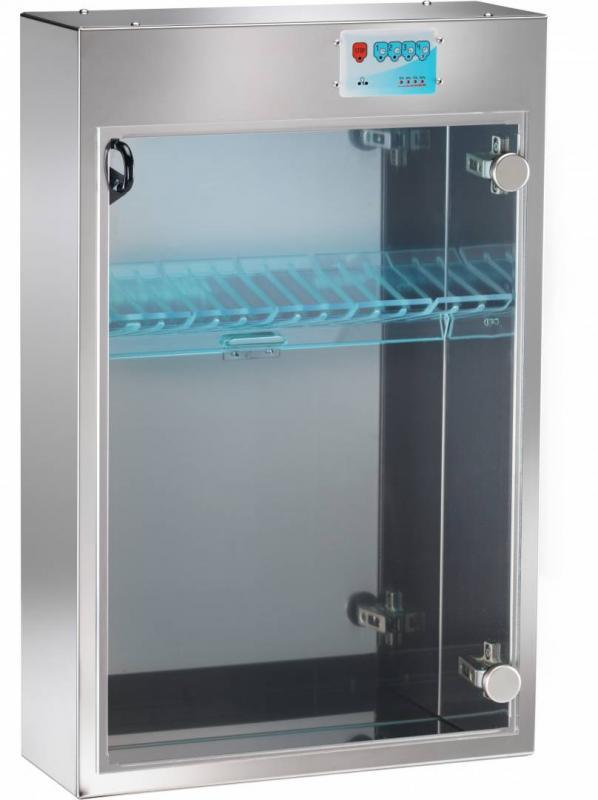 UV Knivsterilisator Forcar - professionell kvalitet för 10 knivar