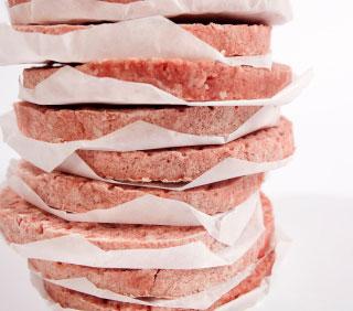 FIMAR cellofanark för Hamburgerpress F10