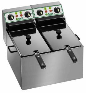 Dubbelfritös 4+4L elektrisk Fimar FR44
