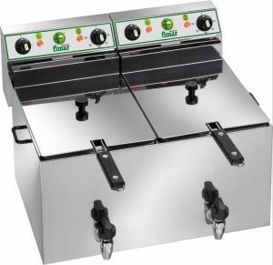 Dubbelfritös 8+8L elektrisk Fimar FR88R