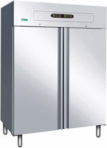 Dubbelkyl/frys rostfritt stål GN1200DT Forcar