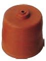 Gummihätta för Glasdamejeanne