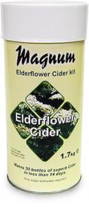 Magnum Elderflower/Fläder Cider REA 2019-09