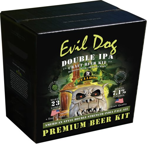 """Evil Dog"" Double IPA - Bulldog Brew"