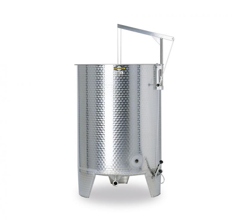 Jäs/lagringstank FO 1100-25000L