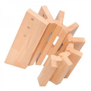 Knivblock Pisa trä 8 knivar