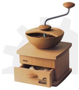 Liten vacker handkvarn Kornkraft Mulino (med kaffekvarnsten)