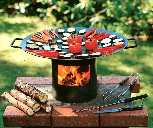 Grill&Wok - Der Feuer Wok