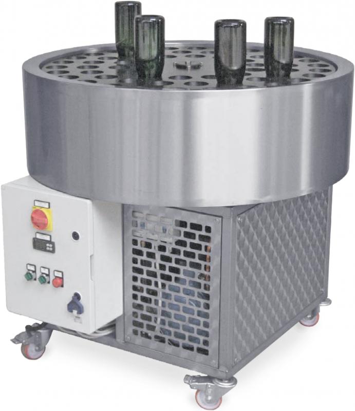 Bottleneck freezer 250-300 flaskor/h