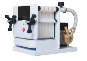 Filter 10-lager 20x20cm med pump