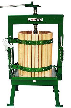 Fruktpress 36L - Svängbar