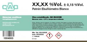 Referensalkohol för Ebulliometer 2-pack