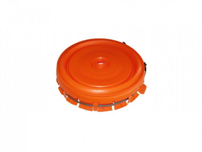 Komplett lock 60-120L plastbehållare