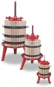 Manuell fruktpress (4 - 477 liter)