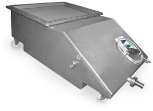 Uppsamlingskärl 2000L/H med filter och pump - MKT100