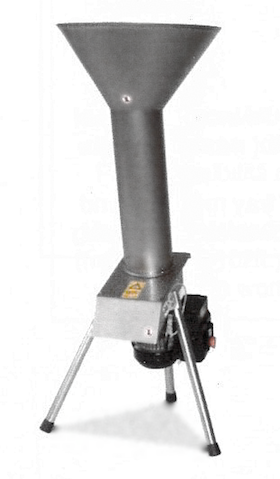 Fruktkvarn i rostfritt stål från Enotecnica Pillan - 22 MINI, ca 800 Kg/h