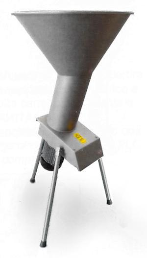 Fruktkvarn i rostfritt stål från Enotecnica Pillan - 23, ca 1500-2000 Kg/h