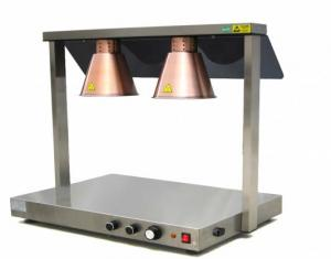 Kvalitativ Värmestation INF med värmelampor